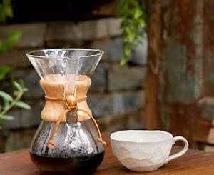 CHEMEX kafijas pagatavošana