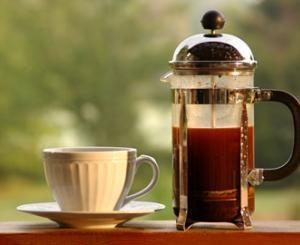 FRANČU PRESE kafijas pagatavošana