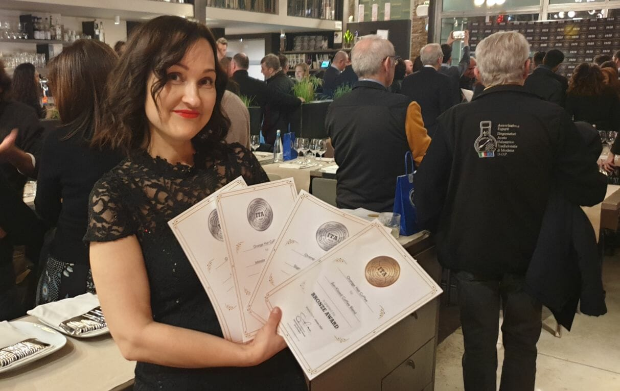 Orange Hat Coffee - International Taste Awards 2020 abalvošanas pasākumā! 3