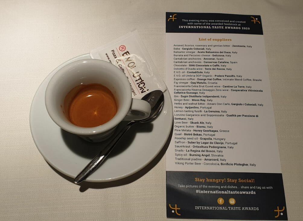 Orange Hat Coffee - International Taste Awards 2020 abalvošanas pasākumā! 4