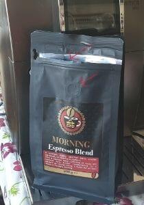 kafijas iepakojums