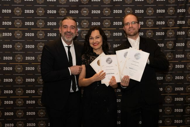 Orange Hat Coffee – International Taste Awards 2020 abalvošanas pasākumā!
