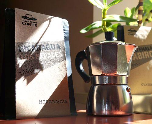 MOKA Kanniņa kafijas pagatavošana